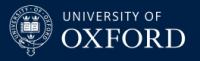 University of Oxford logo rectangle